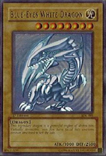 1x (HP) Blue-Eyes White Dragon - SDK-001 - Ultra Rare ...