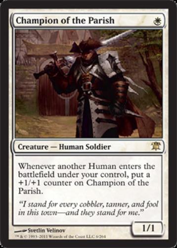 1-x-Champion-of-the-Parish-Foil-Light-Play-English-MTG-Magic-Innistrad